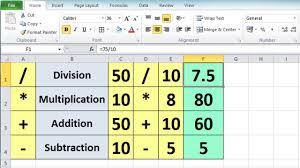 Ms Excel Spreadsheet Tutorial For Beginners Calculation Basics