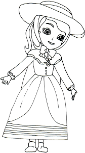 6 Sofia The First Printable Coloring