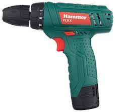 Купить Аккумуляторная <b>дрель</b>-<b>шуруповерт Hammer ACD12LE</b> 18 ...
