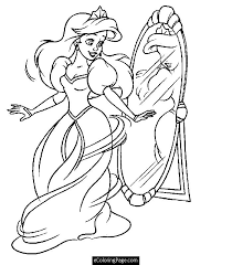 Small Picture Printable Coloring Pages Princess Ariel Coloring Books and etc
