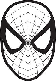 Luomo Ragno Da Colorare Maschera Di Venom Bambino Uomo Ragno 700