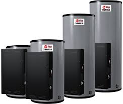 rheem 40 gal electric water heater. commercial powerpack image rheem 40 gal electric water heater