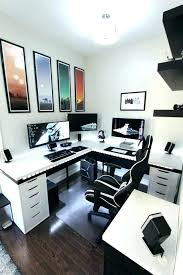 office workspace ideas. Contemporary Office Small Office Setup Ideas Home  Battle Station Gaming   Intended Office Workspace Ideas E