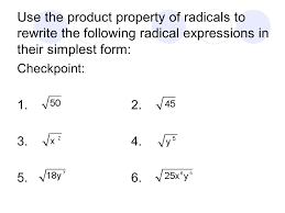 adding and subtracting radical expressions worksheet simplifying