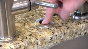 How To Install A Garbage Disposal Button Insinkerator Sinktop