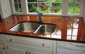 works on wood concrete granite copper stainless steel laminate cork formica quartz bamboo corian and ceramic tile our countertop top is