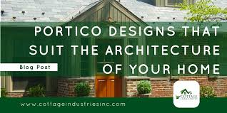 front door portico kitsDesigns That Suits The Architecture of Your Home