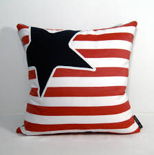 Nautical Pillow Cover Red White Blue Outdoor Pillows