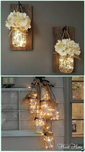 Diy Hanging Lamp Ideas 12 Diy Christmas Mason Jar Lighting Craft