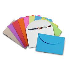 Mini Gift Card Envelopes Neon Multipack 100 Pack