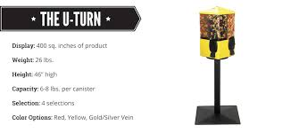 U Turn Vending Machines Classy Mechanical Bulk Vending Machines UTurn Vending Bulk Candy