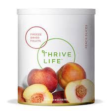 Freeze Dried Peach Slices Fruits