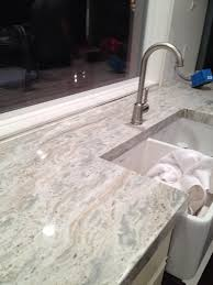Non Granite Kitchen Countertops River White Granite Countertop River White Polished