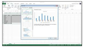How To Insert A Chart In Excel 2013 How To Insert Charts Into An Excel Spreadsheet In Excel 2013