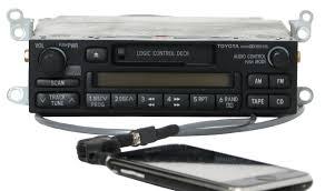 1997-02 Toyota Corolla Tacoma Radio AMFM Cassette w Aux Input ...