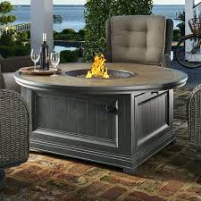 gas fire pit table dogwood cf aluminum gas fire pit table tkc charleston 48 round gas