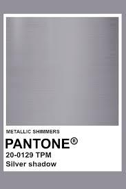 Silver Shadow Metallic Pantone Color In 2019 Silver