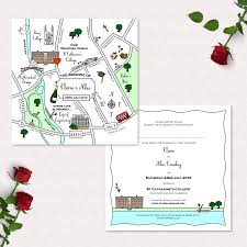 Map Wedding Invitations Rehauhauteboxxco
