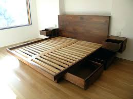 queen bed frame with storage plans not sure how easy this would be to build but queen bed frame