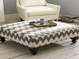 beautiful large upholstered footstool 32 fancy coffee table modern intended for ideas 9