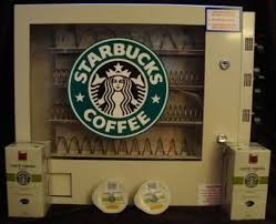 Starbucks Coffee Vending Machine Extraordinary Canada's First Coffee Tea Pod Vending Machine Canadian Vending