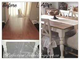 2perfection decor planking our farmhouse table top