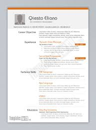 Free Cv Template Word Document Download Resume Wordpad For Mac