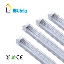 6 Ft Fluorescent Light Fixture 6 Pack Jllead T8 Led 6ft 30w Integrated Tube Light Utility Linkable 6 Foot Under Cabinet Lamp White Daylight 6000k 5 Years Warranty Single Strip