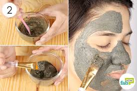 mix properly and use as face pack