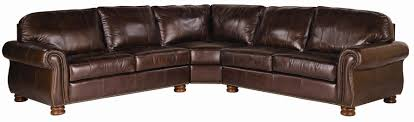 thomasville leather sectional. Exellent Leather Most Recent Thomasville Leather Choices U2013 Benjamin Select 3 Piece  Inside Thomasville Sectional Sofas Intended