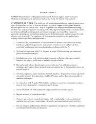 Clinical Research Associate Job Description Resume Cover Letter Clinical Research Associate RESUME 72