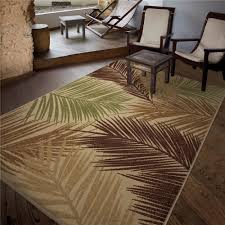 stylish tropical outdoor rugs