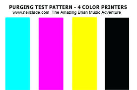 Test Print Page Color Color Test Page Printer Color Test Page Color