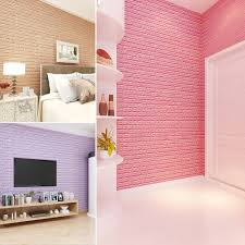 new pe foam wall stickers 3d wallpaper diy wall decor brick