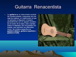 Instrumentos renacimiento