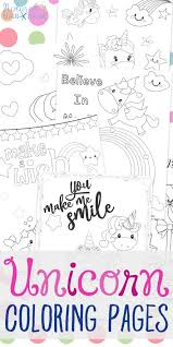 Free printable coloring pages unicorn coloring pages. Unicorn Coloring Pages Free Unicorn Preschool Theme Activities Natural Beach Living