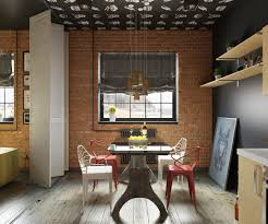 Dining Room Designs: Eclectic Industrial Dining Room Chairs - Dining