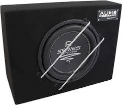 Audio System R 10 Flat G - 25cm Subwoofer Box | ...all Subwoofers |  Subwoofers | Hifi & Navigation | carfeature.de - Car Hifi Shop