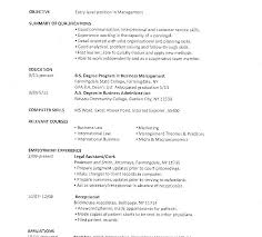 Resume Sample College Student Sample College Resumes For High School