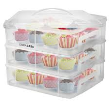 36 Cupcake Carrier New DuraCasa Cupcake Carrier Holder Up To 60 Cupcakes Or 60 Large Cakes