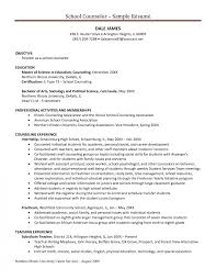 Sample Mental Health Counselor Resume Counselor Resume Examples Templates Substance Abuse Example Cover 21