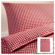 17 best Theme colors for our house images on Pinterest | Drawing ... & LIAMARIA Quilt cover and 2 pillowcases, red check red check cm Adamdwight.com