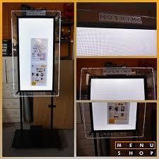 Menu Display Stands Restaurant 100 best Menu Cases Display Cases images on Pinterest 64