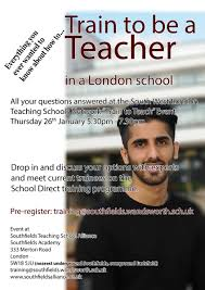 southfields academy on thinking about a career change southfields academy on thinking about a career change thinking about your future come along to our train to teach in london event