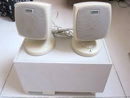 myoldvintagehifi altec lansing acs33 2 1 for pc acs33 2 1 pc speakers