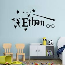 Harry Potter Vinyl Wall Sticker Personalized Baby Name Wall