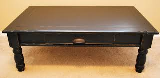 Coffee Table With Drawers Square Coffee Table Amazing 40 Rustic Black Gloss With Drawers
