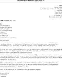 Admissions Coordinator Cover Letter Coordinator Cover Letter Sample
