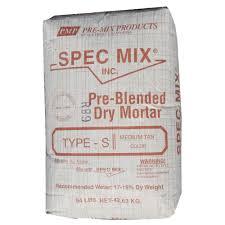 Spec Mix 94 Lb Mason Mortar Mix