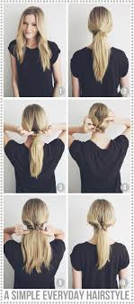Quick Cute Ponytail Hairstyles Diy Cupcake Holders Pony Tails Lazy Days And Basic Style
